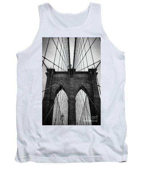 Brooklyn Bridge Wall Art Tank Top