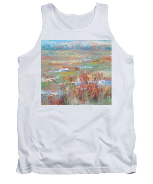 Brush Creek In Abstract Tank Top
