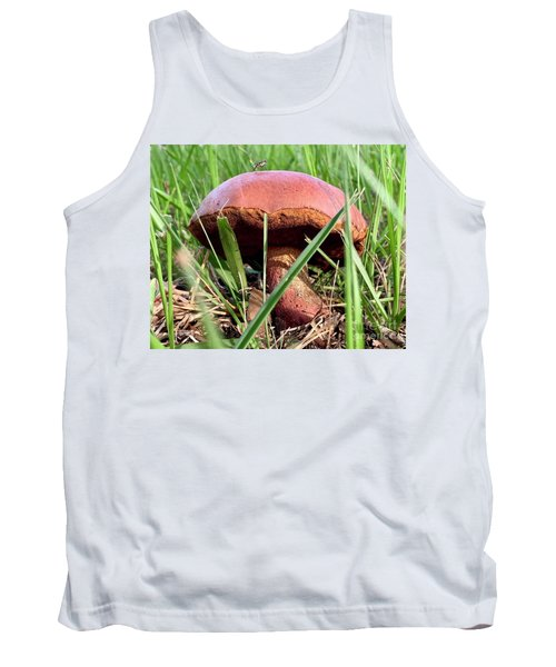 Bug On Boletus Edulis Tank Top