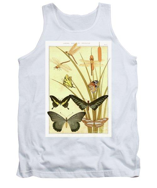 Butterflies By Maurice Pillard Verneuil Tank Top