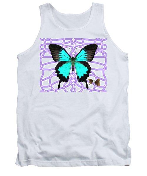 Butterfly Patterns 18 Tank Top