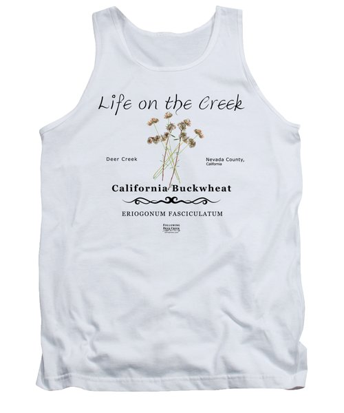 California Buckwheat Tank Top