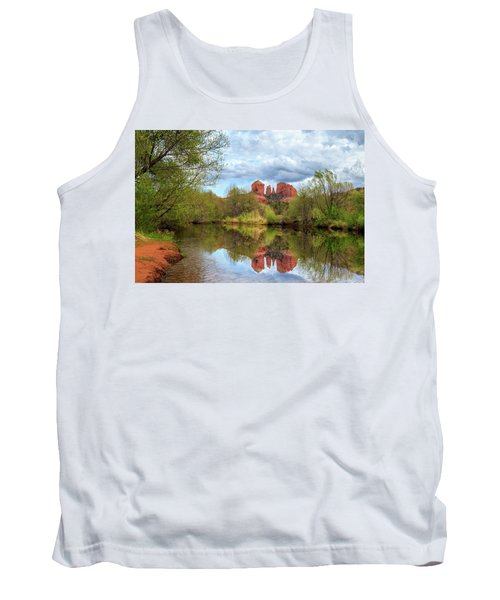 Cathedral Rock Reflection Tank Top