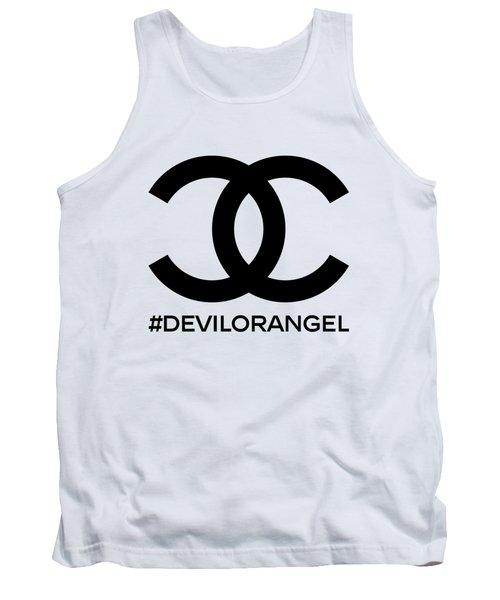 Chanel Devil Or Angel-1 Tank Top