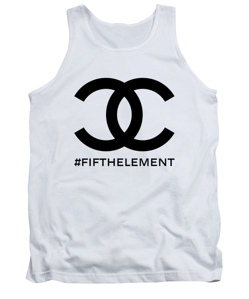 Chanel Fifth Element-1 Tank Top