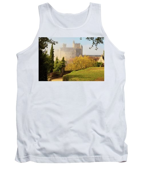 Chateau Beynac In The Mist Tank Top