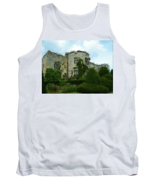Chirk Castle Painting Tank Top