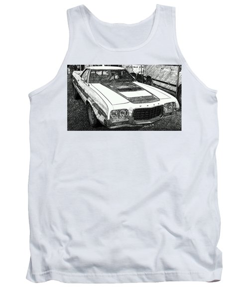 Classic Ford Sketch Tank Top