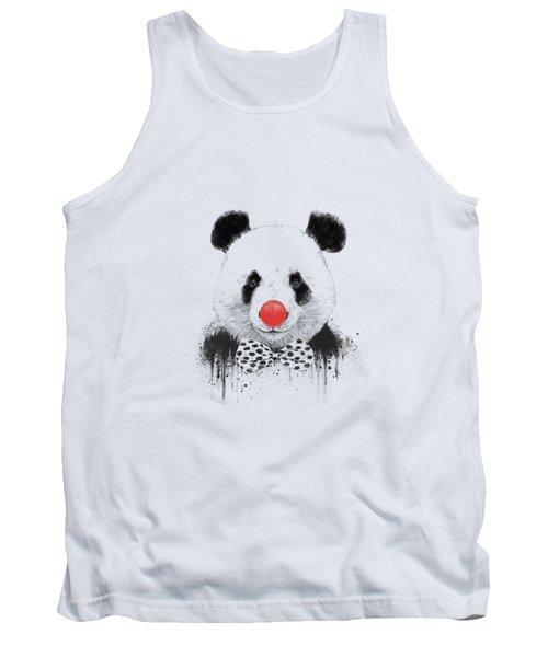 Clown Panda Tank Top