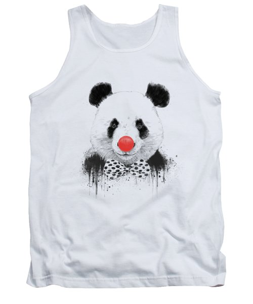 Clown Panda Tank Top
