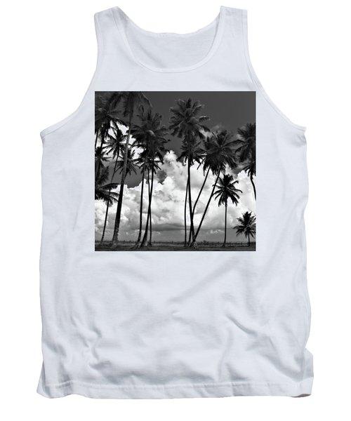 Coconut Trees At Mayaro Tank Top