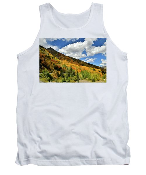 Color In The Spotlight At Red Mountain Pass Tank Top