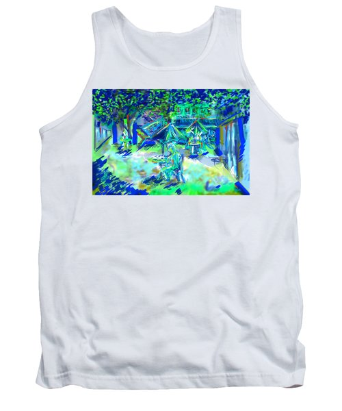 Colorful Courtyard Tank Top