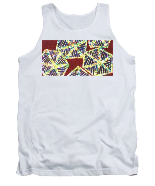 Colourful Webs  Tank Top