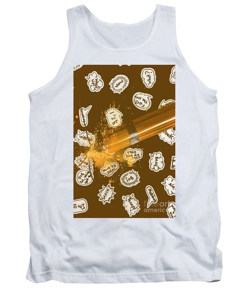 Comical Charge Tank Top