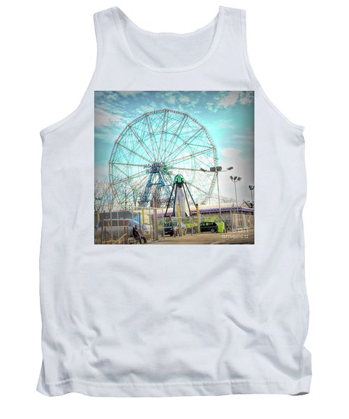 Coney Island Wonder Wheel Ny Tank Top