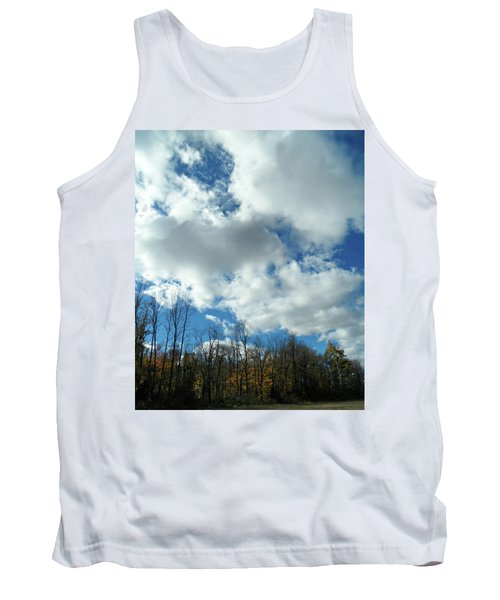 Country Autumn Curves 10 Tank Top