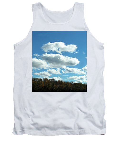 Country Autumn Curves 11 Tank Top