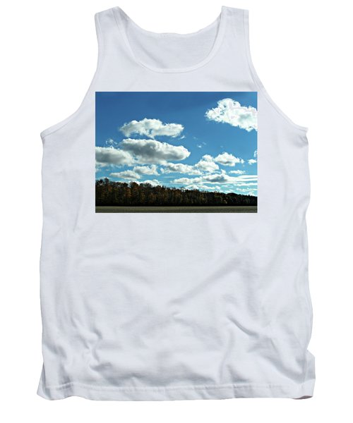 Country Autumn Curves 12 Tank Top