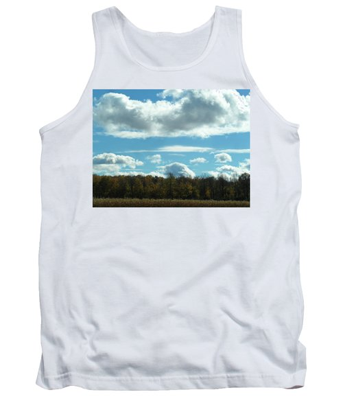 Country Autumn Curves 8 Tank Top