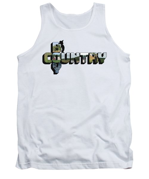 Country Boy Big Letter Tank Top