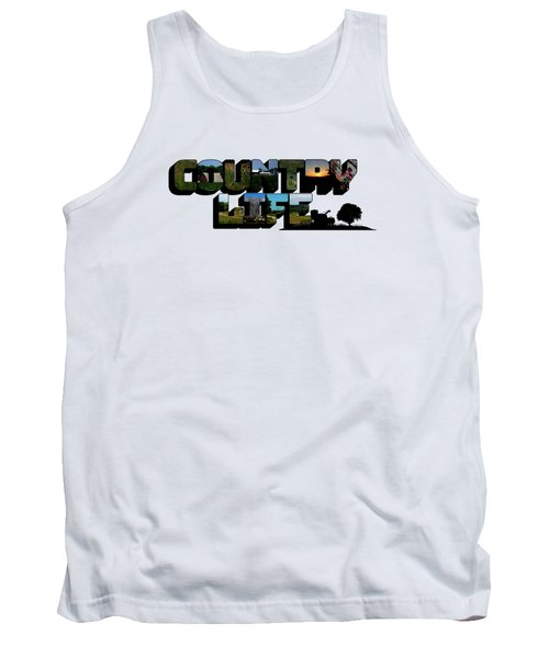 Country Life Big Letter Tank Top