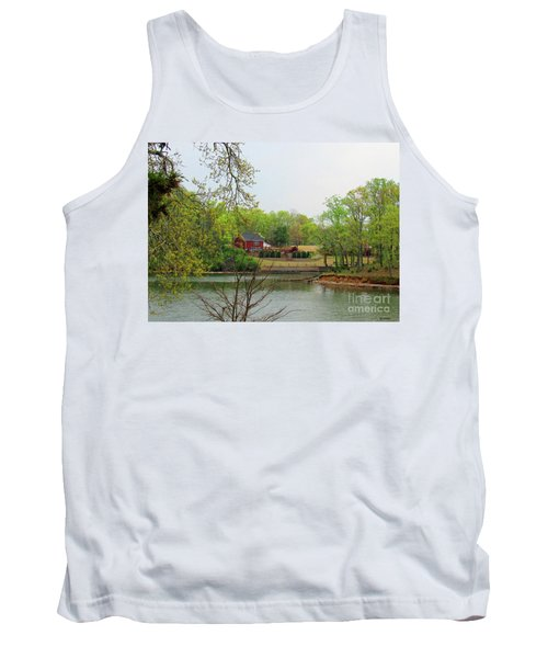 Country Living On The Tennessee River Tank Top