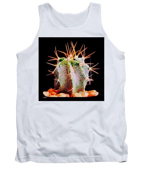 Crazy  Cactus Tank Top