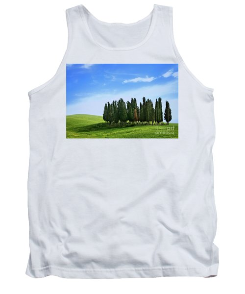 Tank Top featuring the photograph Cypress Stand by Scott Kemper