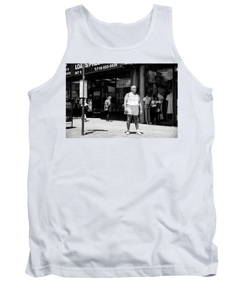 Tank Top featuring the photograph Da Bronx  by Cole Thompson