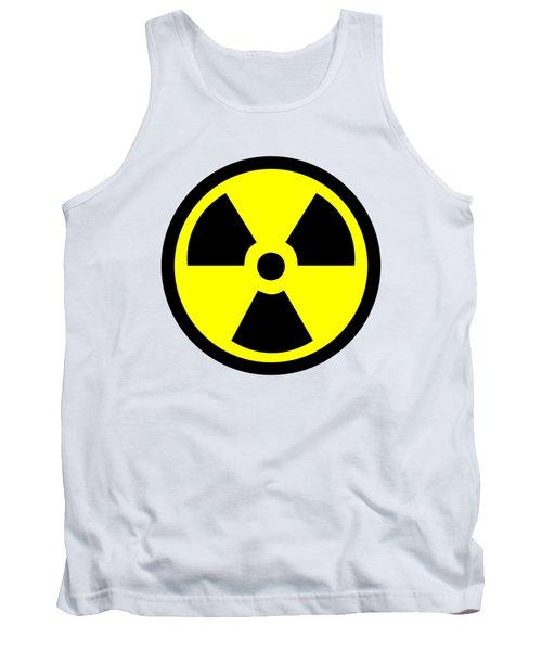 Danger Radiation Sign - Efb256 Tank Top