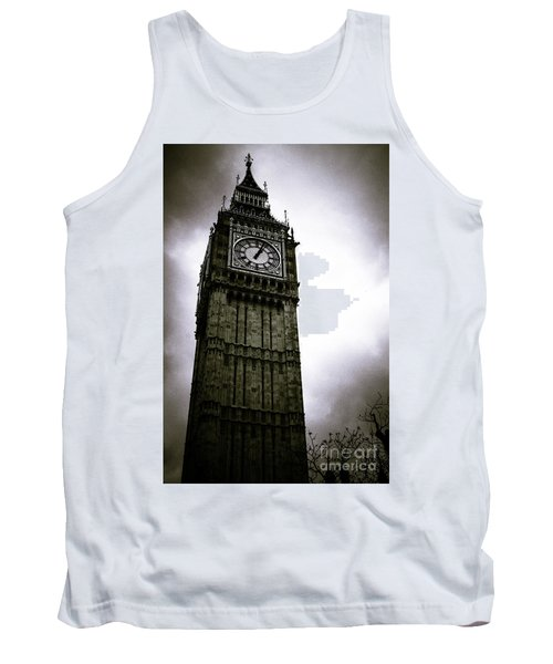 Dark Big Ben Tank Top