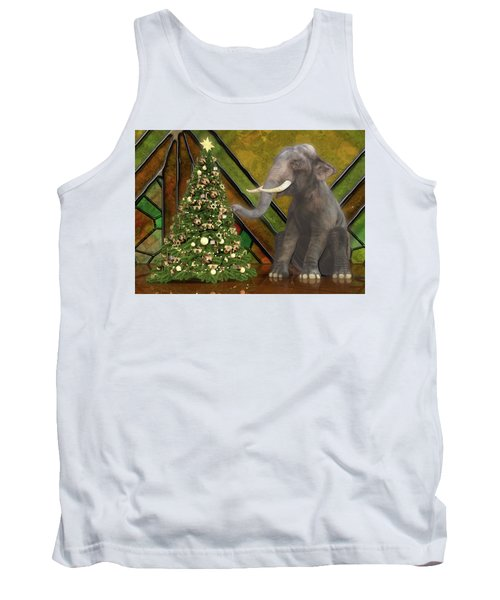 Decorating The Perfect Tree Tank Top