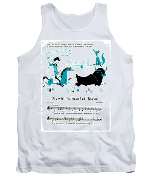 Deep In The Heart Of Texas Tank Top