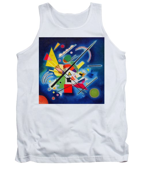 Digital Remastered Edition - Blue Painting Tank Top