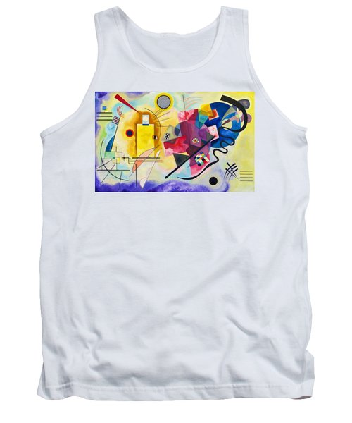 Digital Remastered Edition - Yellow, Red, Blue Tank Top