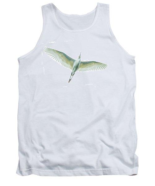 Dimorphic Egret Egretta Dimorpha Tank Top