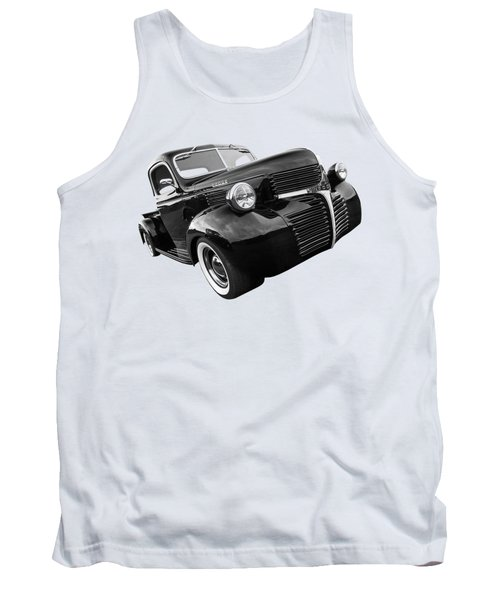 Dodge Truck 1947 Side View Tank Top