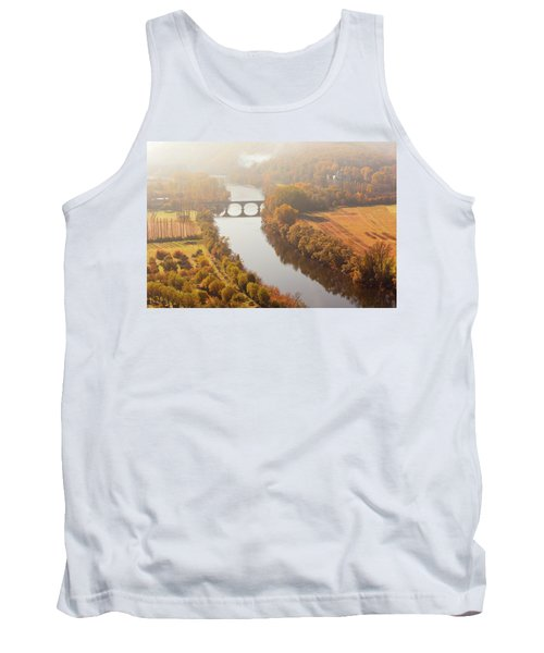 Dordogne River In The Mist Tank Top