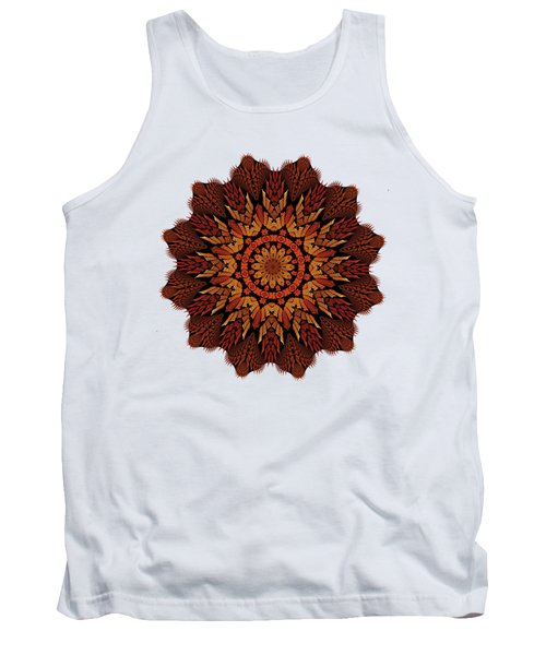 Dragon Clock Medallion For Apparel Tank Top