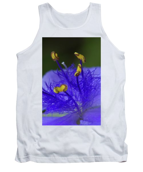 Dressed In Blue Jackets #2 Tank Top