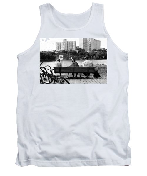 Tank Top featuring the photograph Drums Along The Hudson  by Cole Thompson