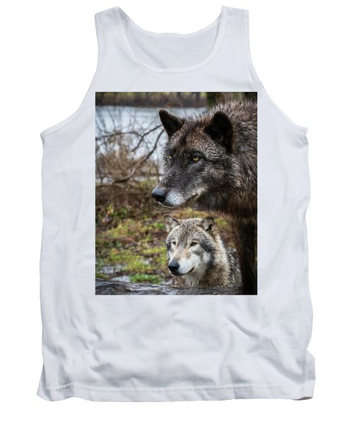 Dual Wolves Tank Top
