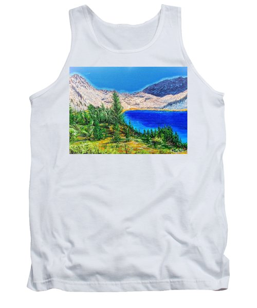 Tank Top featuring the painting Duck Pass by Kevin Daly