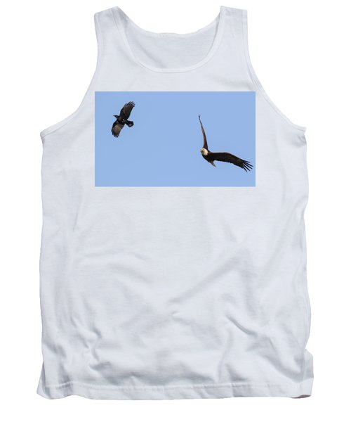 Eagle And Crow  Tank Top
