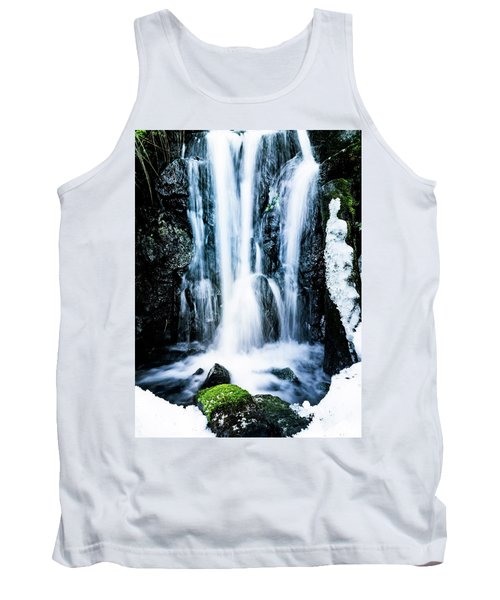 Early Spring Waterfall Tank Top