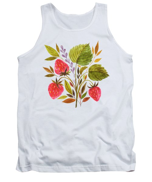 Early Summer Strawberries Are The Sweetest Tank Top