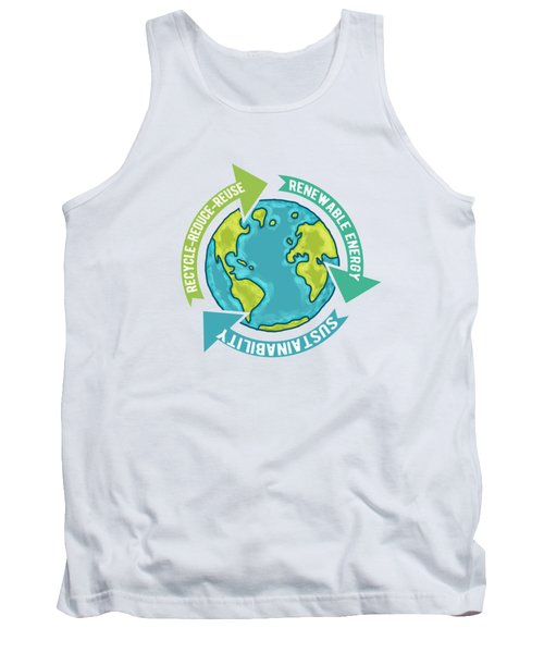 Earth Sustainability Tank Top