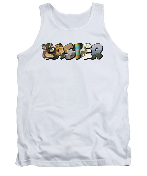Easter Big Letter Tank Top