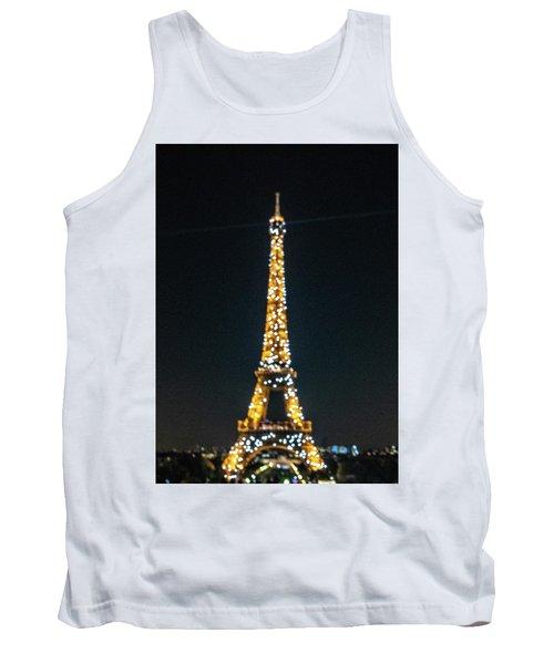 Tank Top featuring the photograph Eiffel Tower by Randy Scherkenbach